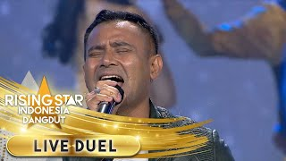 Download Mp3 MENGGELEGAR Judika Menyanyikan Lagu Live Duel Rising Star Indonesia Dangdut