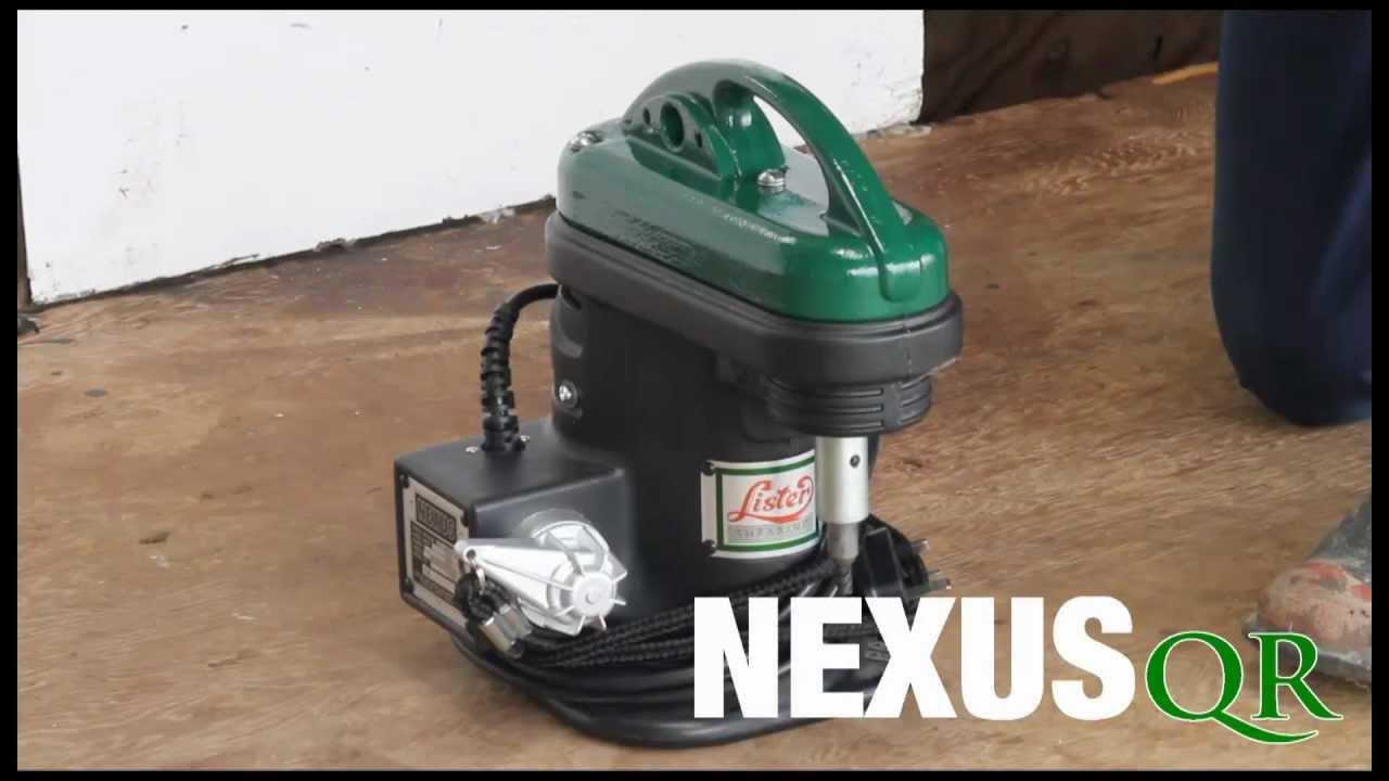 lister nexus shearing machine