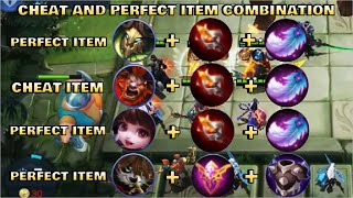 CHEAT AND PERFECT ITEM COMBINATION - TOP GLOBAL MAGIC CHESS PLAYER | Mobile Legends Bang Bang