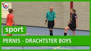 SPORT: Finale zaalvoetbal Pernis - Drachtster Boys