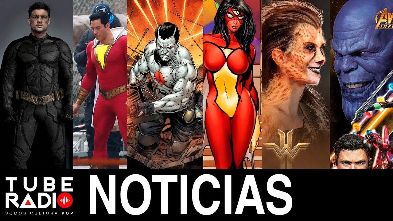 Tube Radio: Vengadores: Infinity War, Wonder Woman