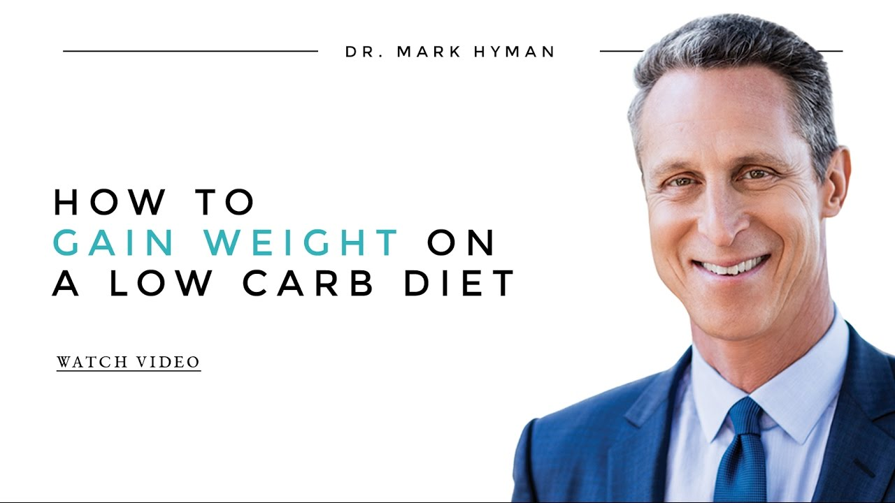 how to gain weight low carb diet