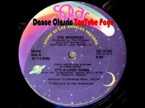 The Whisper - It's A Love Thing (Extended)