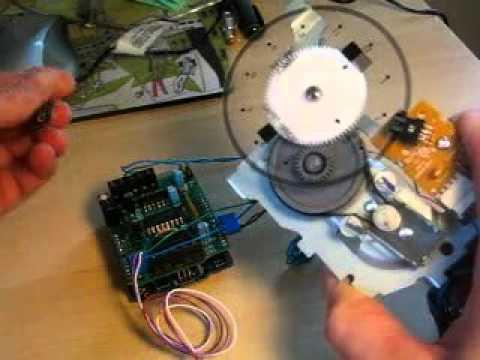 PID điều khiển bởi  Arduino và encoder motor