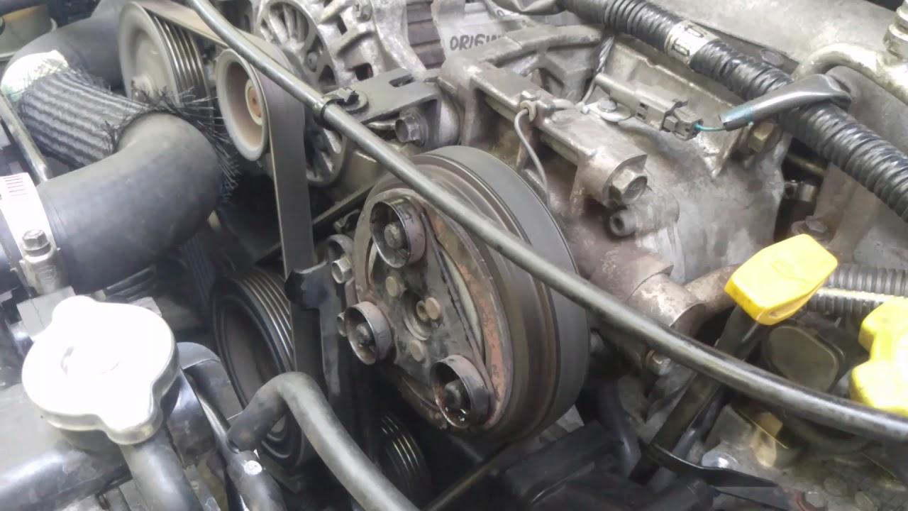 05 WRX Seized AC Compressor Failure