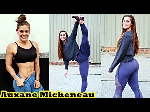 Auxane Micheneau - French Fitness Babe / Full Workout & All Exercises