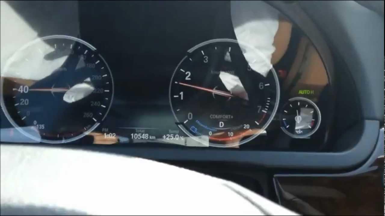 Dashboard Rattle on BMW 7 series 2013