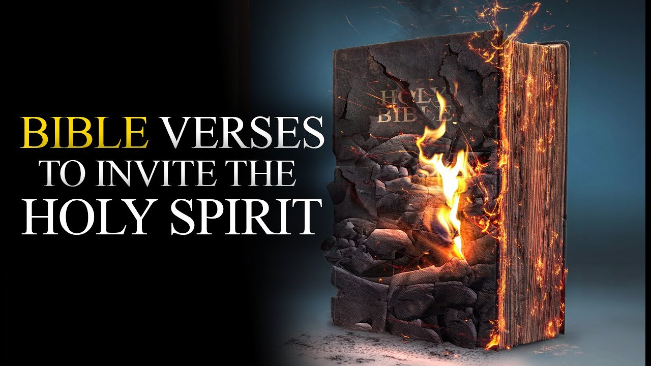 VERY POWERFUL BIBLE VERSES ABOUT THE HOLY SPIRIT
