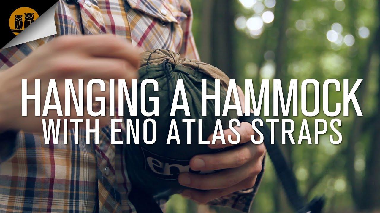 Hanging A Hammock W Eno Atlas Straps