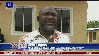 2019 Elections: APC Factions In Rivers State Describes List As Ceremony