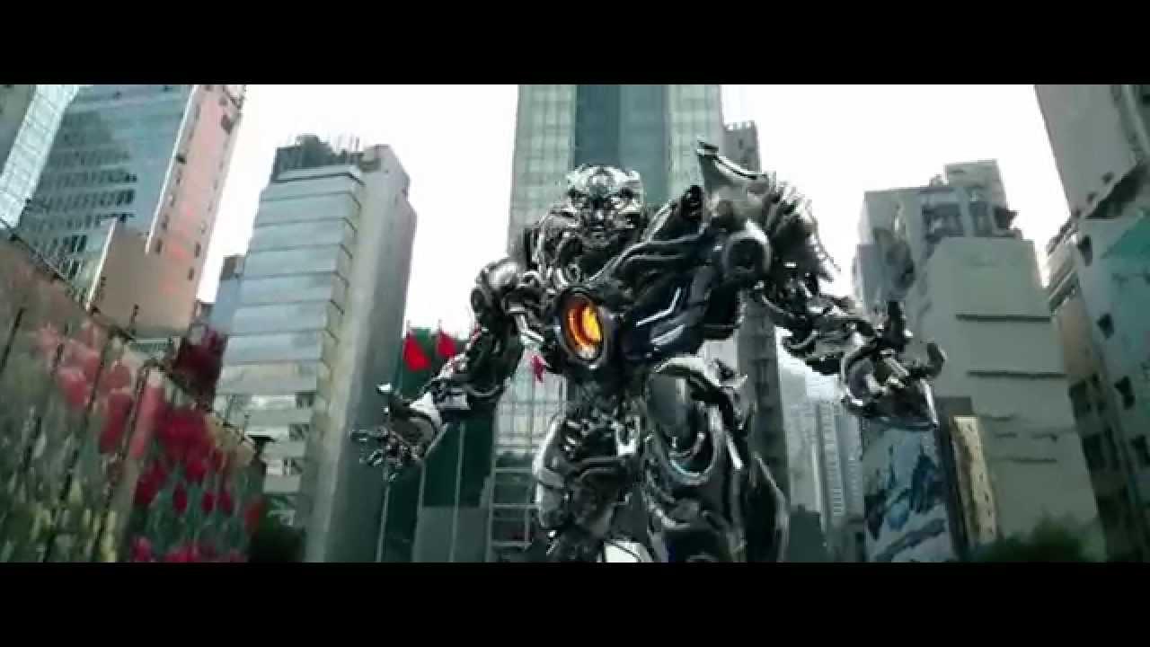 Transformers 2014 Autobots y Dinobots vs decepticons HD
