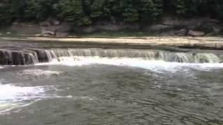 Old Dam, Wabash River Thumbnail