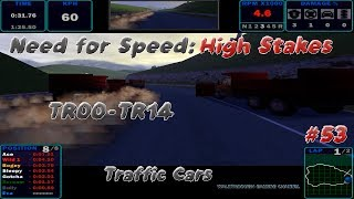 [1920x1080 PC] Need For Speed High Stakes (1999) #53 ✓ Traffic Cars ✓ TR00-TR14