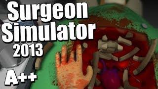 Surgeon Simulator 2013 - Gameplay Saving Bob