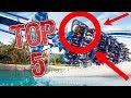 Top 5 Rides at SEA WORLD Orlando! HD 2017! POV's!