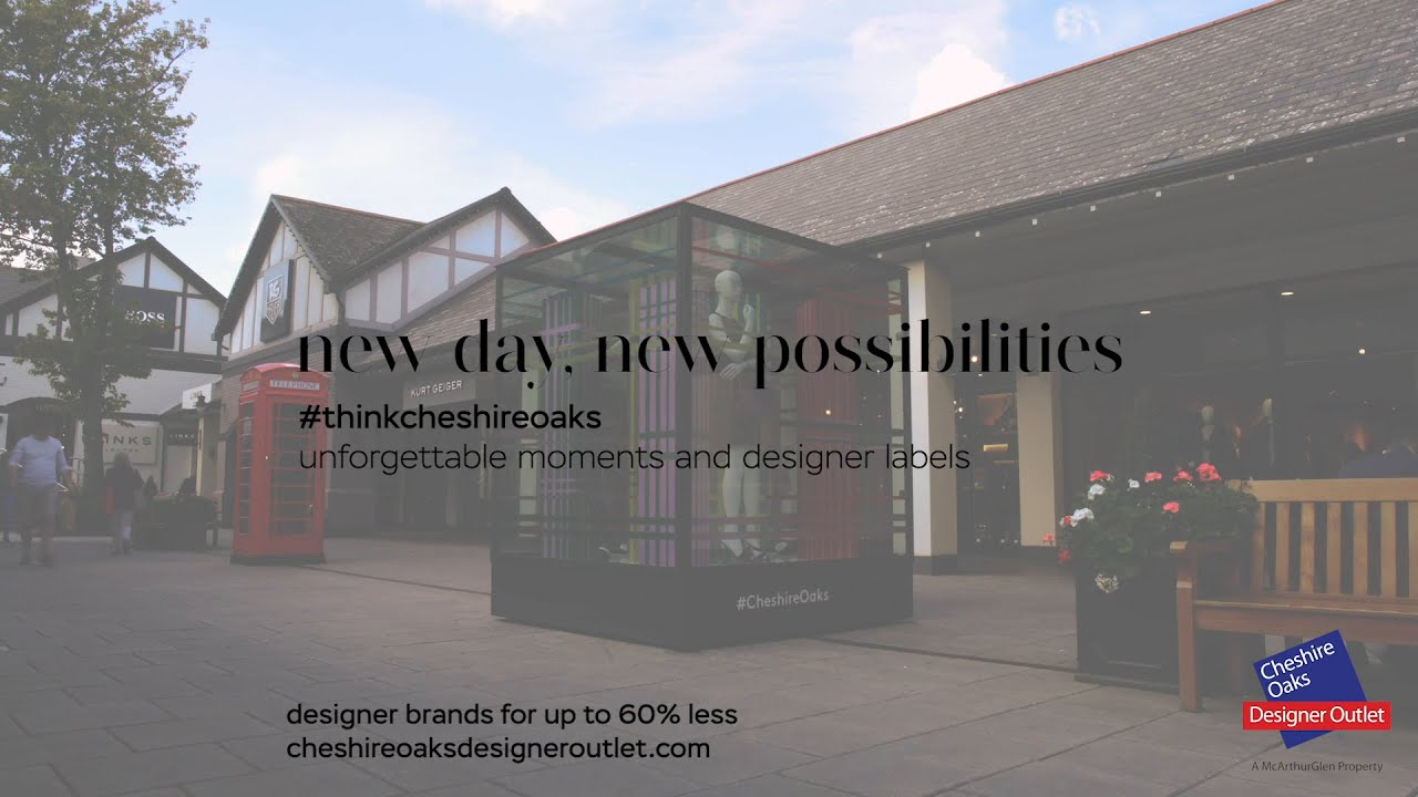 Cheshire Oaks Designer Outlet Up To 60 Less Mcarthurglen