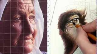 Графика: Рисуем портрет цветными карандашами(Уроки рисования на сайте: http://flatonika.ru/portret-karandashami/ Подписывайтесь на канал с лучшими видео уроками по рисован..., 2013-12-28T17:44:34.000Z)