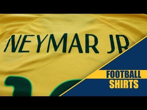 Neymar Brazil 2014 World Cup Home Kit - Football-Shirts.co.uk