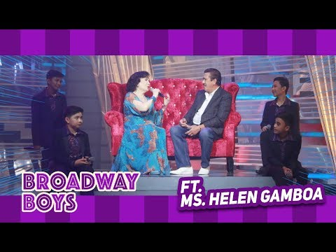 Broadway Boys with Ms. Helen Gamboa | September 1, 2018