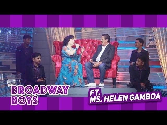 Broadway Boys with Ms. Helen Gamboa | September 1, 2018