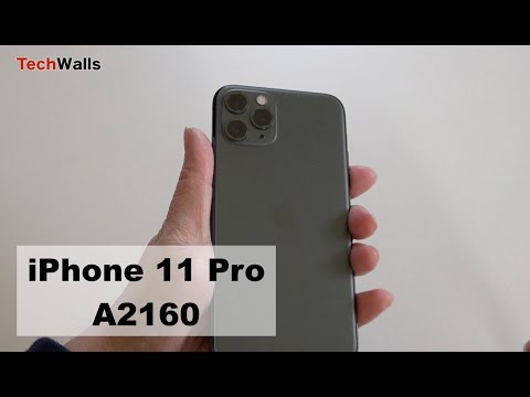 Apple IPhone 11 Pro A2160 Unboxing & Setup
