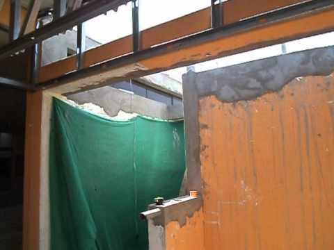 Colocando tijerales para techo de drywall youtube for Techos de drywall para dormitorios