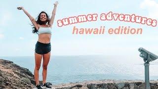 summer island adventures in hawaii vlog!