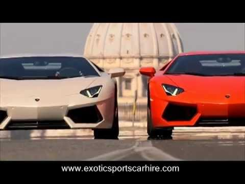 Charmant Sport Car For Rent   Lamborghini Aventador LP700 4 On The Streets Of Rome HD
