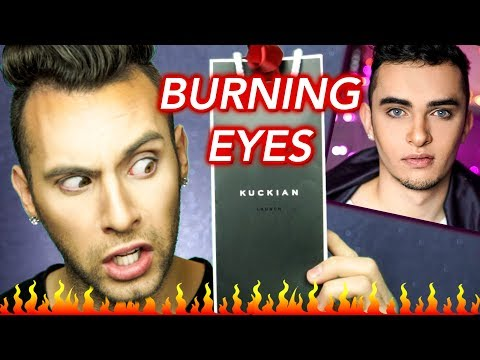 NO BULLSH*T Kuckian Cosmetics Review | BURNED MY EYES | PopLuxe