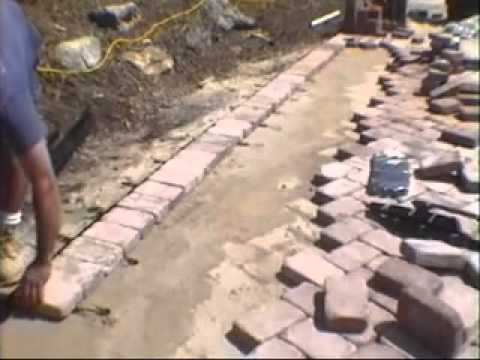 Paving Stones Installation, Base Preparation, Leveling, Compaction, Gappsi  Long Island   YouTube