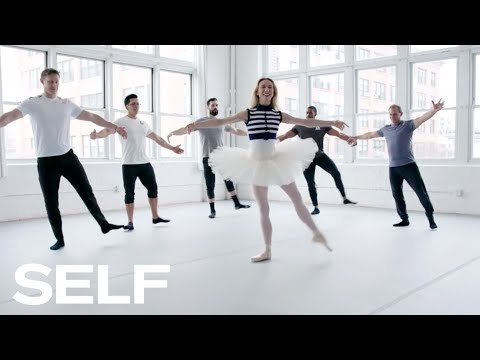 CrossFit Athletes Try to Keep Up with a Professional Ballerina | SELF