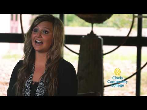 Student Spotlight - Brenna Thomas at Clovis Community College (CCC)