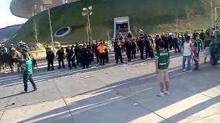 Violencia en guadalajara - Chivas vs Leon