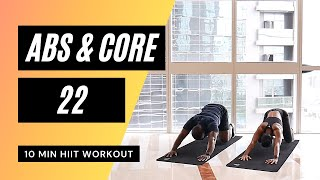 No. 45 | Abs & Core HIIT Workout with Low Impact & Beginner Modifications