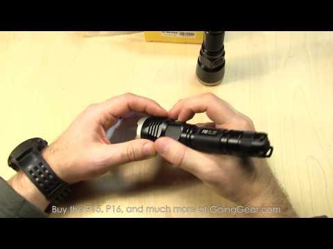 Nitecore P15 P16 Flashlight Extended Review