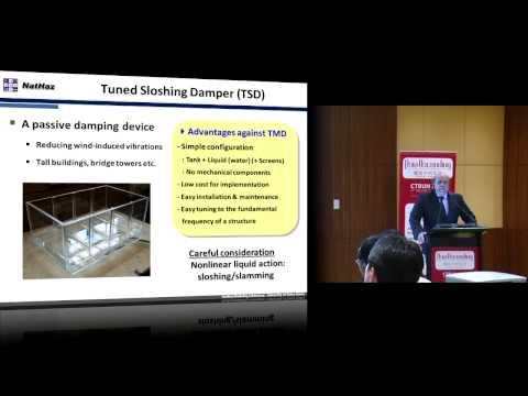 """CTBUH 2012 Shanghai Congress - Robert McNamara, """"Sloshing Dampers for Slender Concrete Towers"""""""