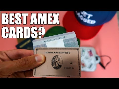 Best Amex Credit Cards For MAX Amex Points