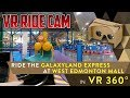 Galaxyland Express Ride Cam in VR 360 - Best Edmonton Mall