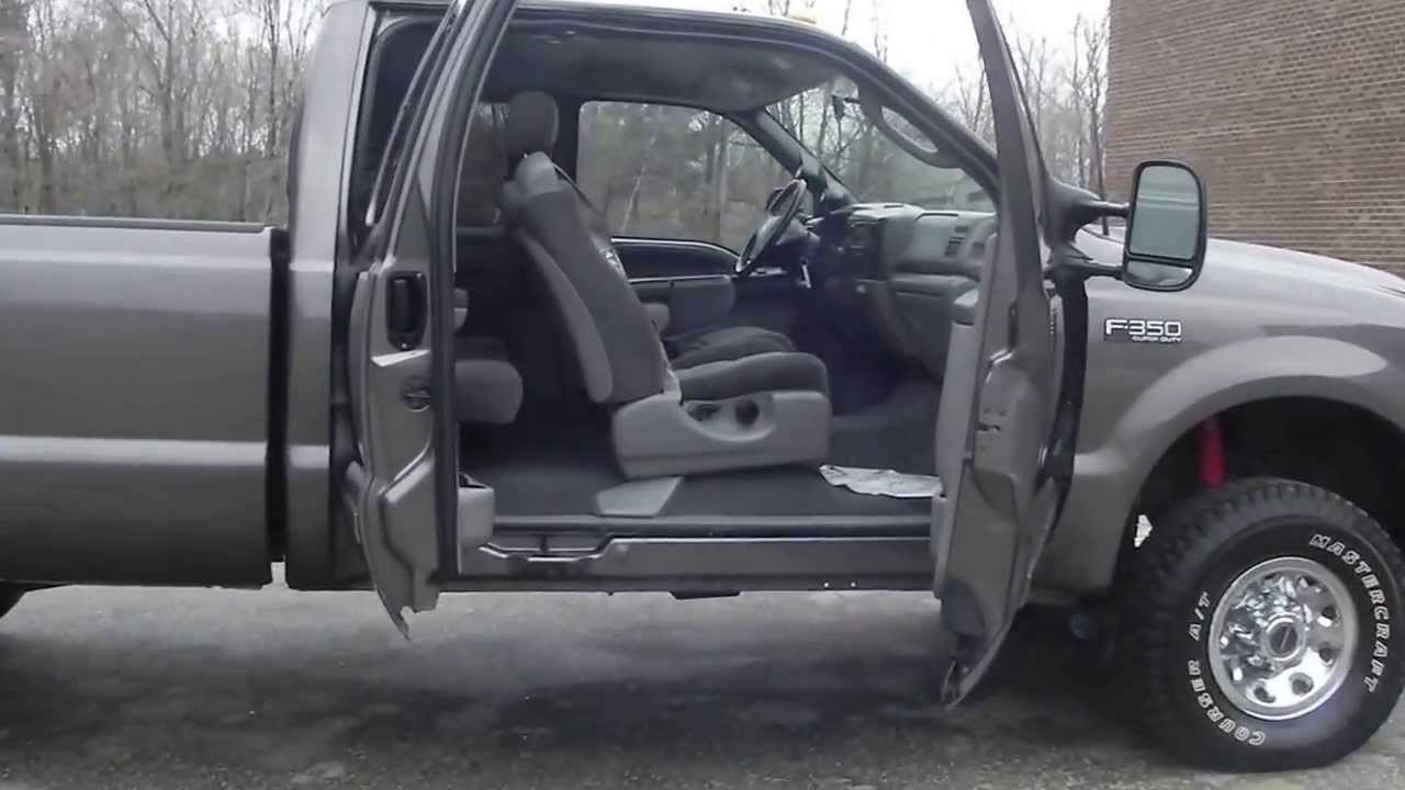 2003 Ford F350 Diesel >> 2003 Ford F350 XLT 4x4 4WD Extended Cab Long Bed 7.3L Powerstroke Diesel AC - YouTube