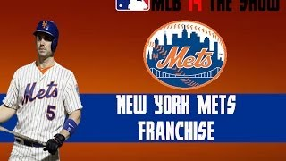 MLB 14 The Show: New York Mets Franchise Ep.1 Trades?