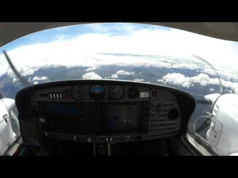 Pilot's Eye, 20 Minutes Approach to Rijeka, Krk LDRI, Croatia ILS 14 with a Diamond DA42 NG