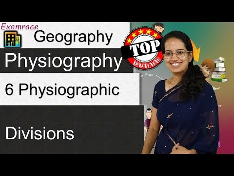 6 Physiographic Divisions of India - Geography of India