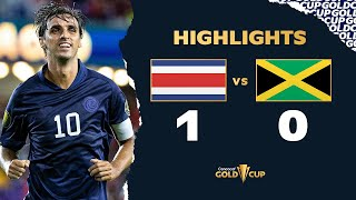 Highlights: Costa Rica 1-0 Jamaica - Gold Cup 2021