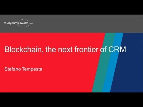 Blockchain, the Next Frontier of CRM