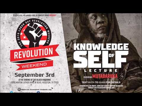 knowledge of self Lecture part 2 For all who missed it