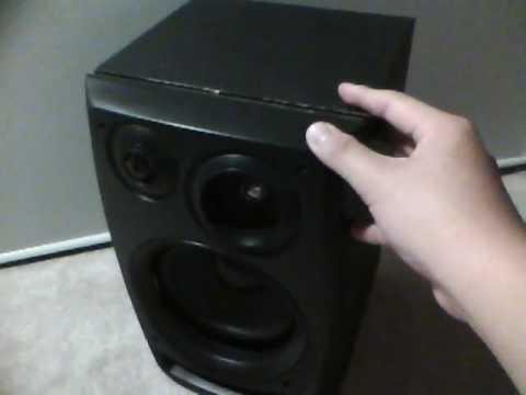 how to take apart a aiwa speaker youtube rh youtube com