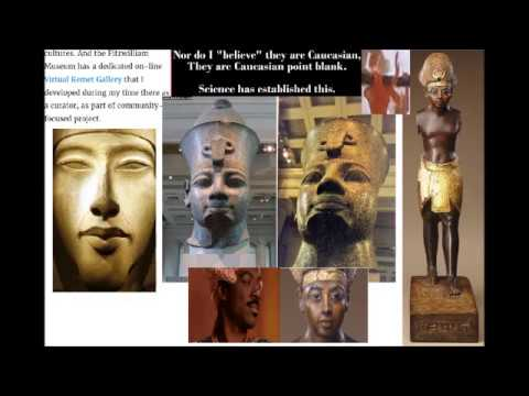EGYPT DOCUMENTARY: WHITE DOCTORS ADMIT BLACK EGYPT