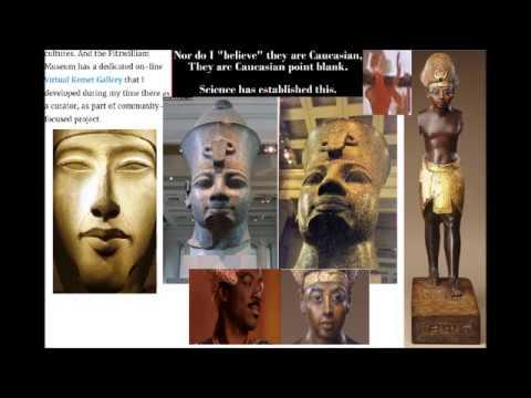 EGYPT DOCUMENTARY: WHITE DOCTORS ADMIT BLACK EGYPT