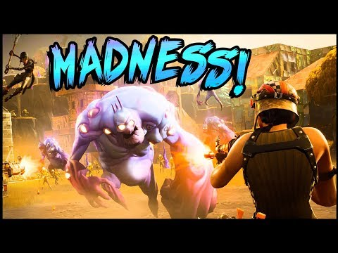 THIS IS MADNESS! Madness Difficulty & INTO THE STORM! - Fortnite Save The World Gameplay PVE