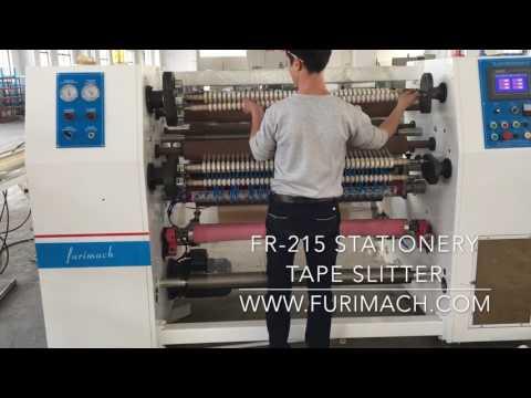 FR-215 BOPP Stationery Tape Making Machine